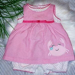 🚨5 FOR $23   2 pc. NEWBORN Romper/Jumper Dress